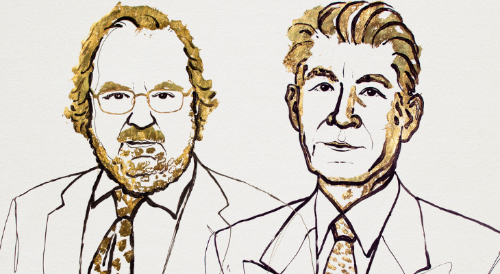 Nobel Prize in Medicine heralds James P. Allison, left, and Dr. Tasuku Honjo for cancer treatment breakthroughs. | Niklas Elmehed/Nobel Media AB 2018