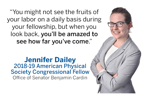 Photo of STPF fellows Jennifer Dailey