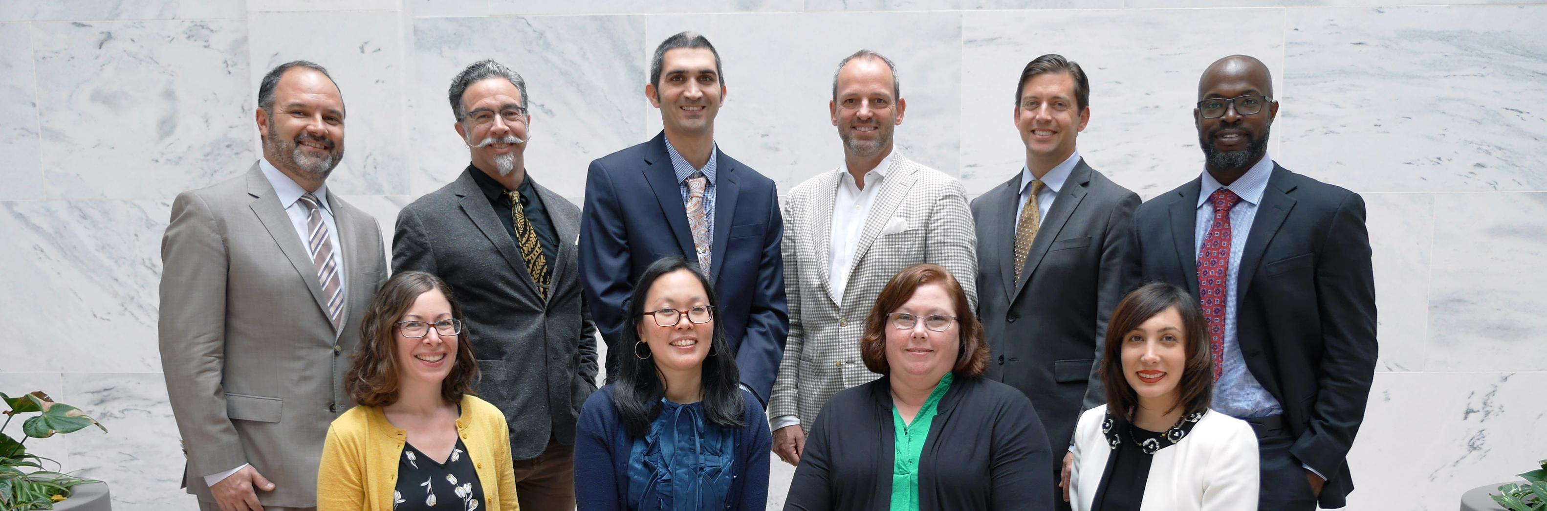 2019-2020 AAAS Leshner Leadership Fellows, researchers in the field of human augmentation.