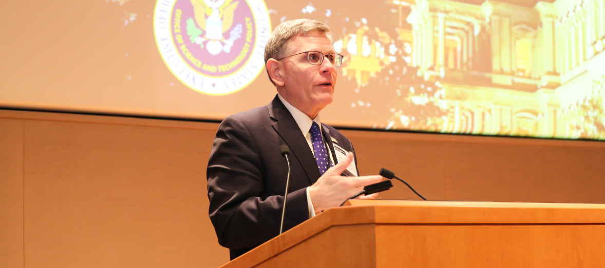 Kelvin Droegemeier, director of the White House Office of Science and Technology Policy