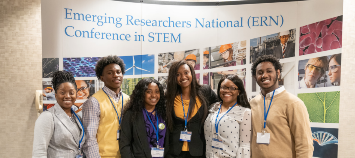 Attendees of the Emerging Researchers National Conference in STEM
