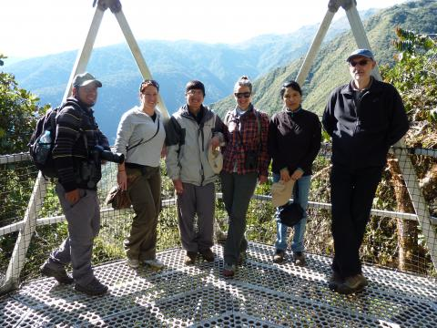 Group in Peru.