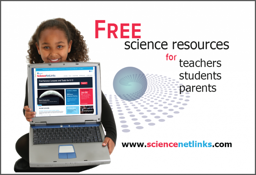Science NetLinks offers free science resources