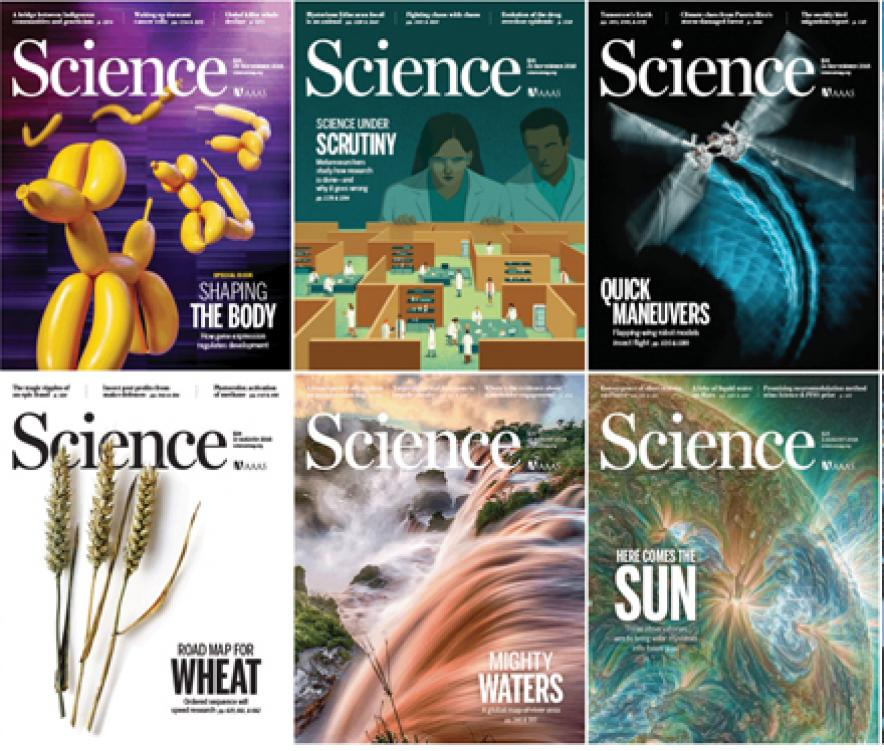 Science covers