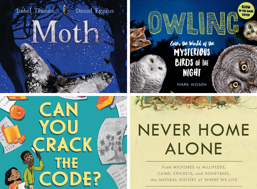 Book covers of the 2020 AAAS/Subaru SB&F Prize for Excellence in Science Books