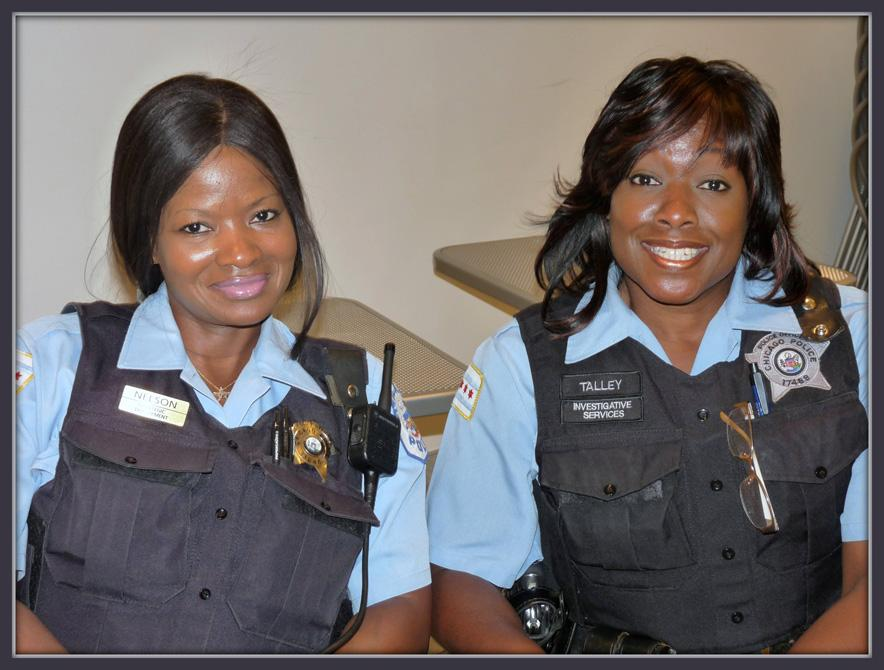 Black women police officers