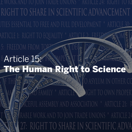 science and human rights coalition  american association for the  giving meaning to the right to science a global and multidisciplinary  approach