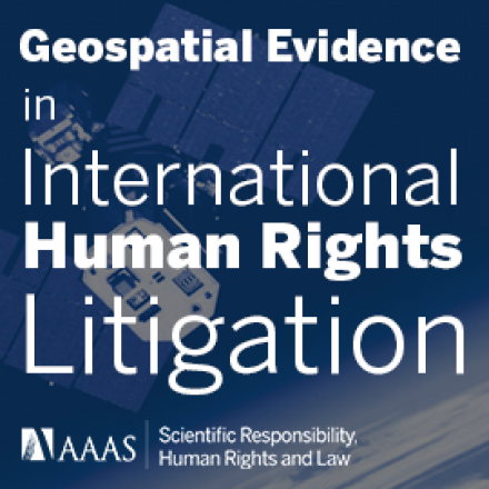 Geospatial Evidence in International Human Rights Litigation