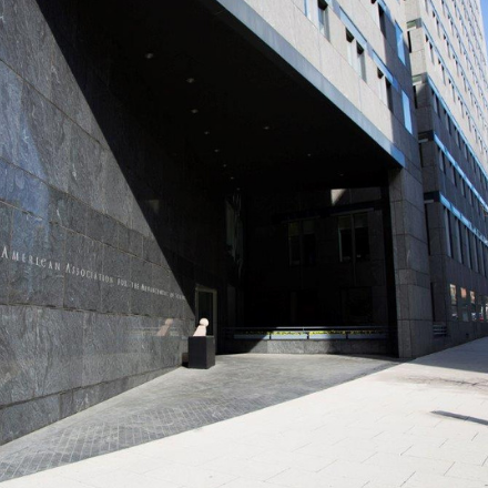 the AAAS headquarters building