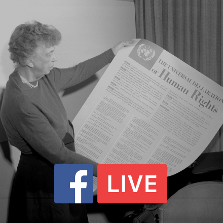 Facebook Live: Opportunities to Serve Human Rights