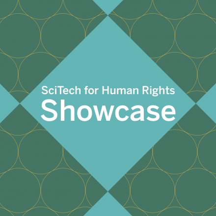 SciTech for Human Rights Button
