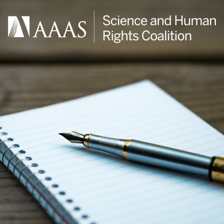 Science and Human Rights Coalition Student Essay Competition