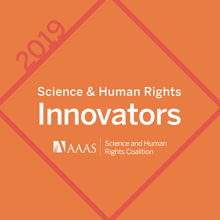 science and human rights innovators logo