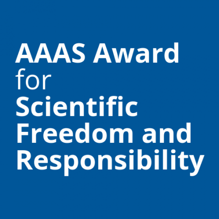 AAAS Award for Scientific Freedom and Responsibility