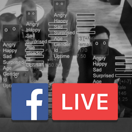 September 10, 2019 at 12PM Eastern, Facebook Live on Facial Recognition, Human Rights and Scientific Responsibility.