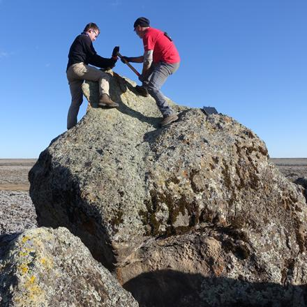 glacial sampling at Ethiopian Middle Stone age site