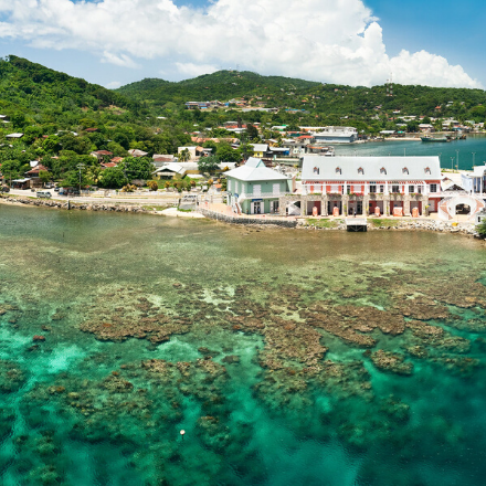 Roatan in the Bay Islands of Honduras