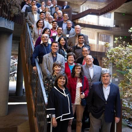 Participants at US-Mexico transboundary water management workshop, hosted by Udall Center for Studies in Public Policy, University of Arizona, and El Colegio de Sonora, Tucson, October 2018