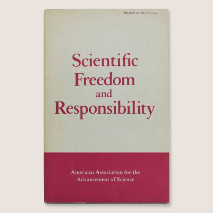 Report on Scientific Freedom and Responsibility
