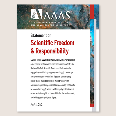 Statement on Scientific Freedom and Responsibility