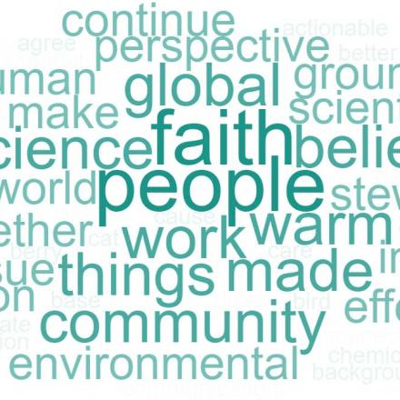 "Word cloud summarizing participants' response to the question, ""What was the most important take‐away message for you from this series of workshops?"""