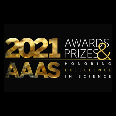 The 2021 AAAS Awards cycle runes April 15-June 30, 2020. More information can be found at aaas.org/aaas-awards.