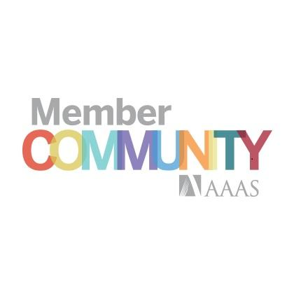 Member Community spelled out on a white background
