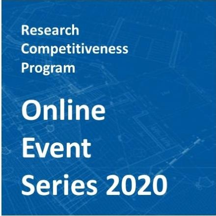 RCP Online Events Series 2020
