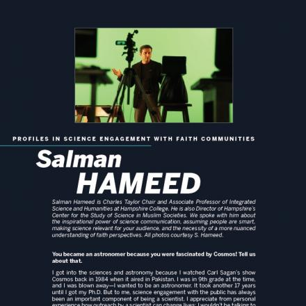 Image of first page of Salman Hameed's PDF profile