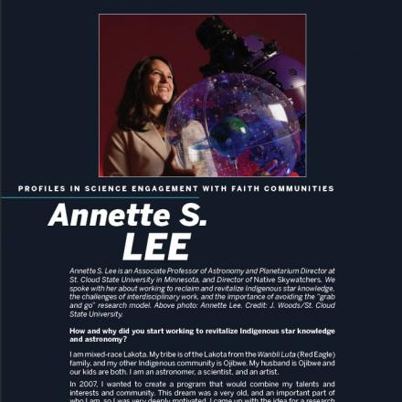 Image of first page of Annette Lee's PDF profile