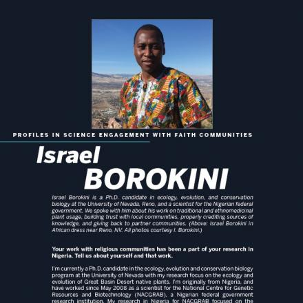 Image of first page of Israel Borokini's profile