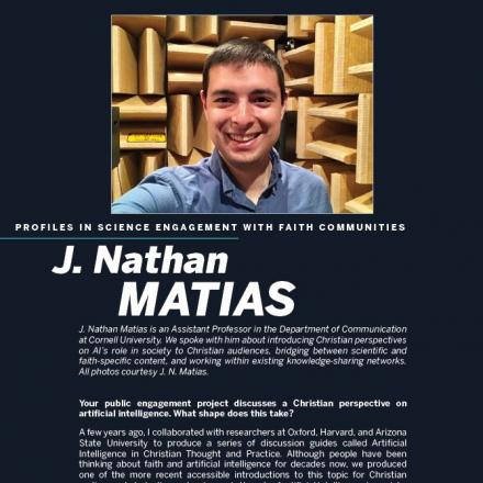 Image of first page of J. Nathan Matias's profile
