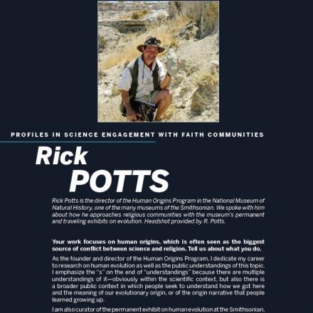 Image of first page of Rick Pott's profile