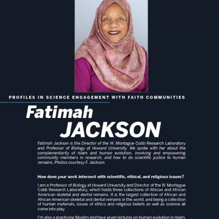 Image of first page of Fatimah Jackson's PDF profile