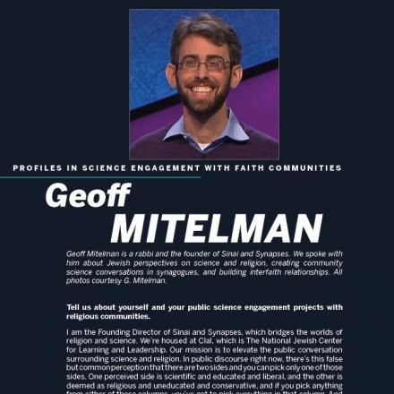 Image of first page of Geoff Mitelman's PDF profile