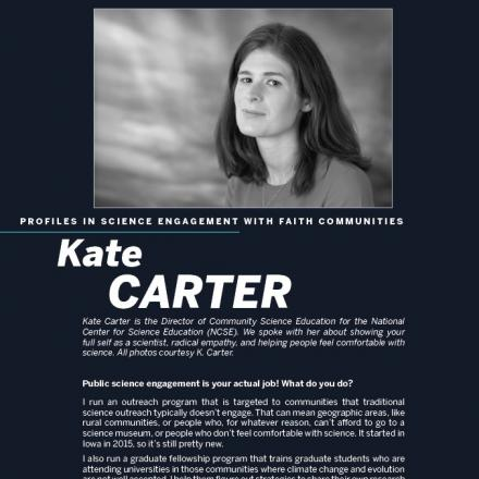 Image of first page of Kate Carter's PDF profile