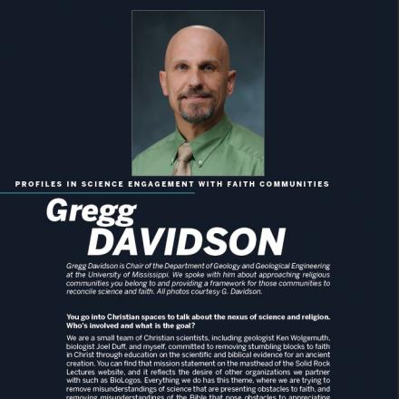 Image of first page of Gregg Davidson's PDF profile