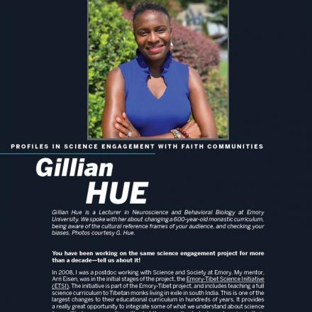Image of first page of Gillian Hue's PDF profile