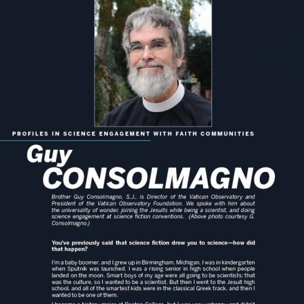 Cover image of PDF profile for Brother Guy Consolmagno