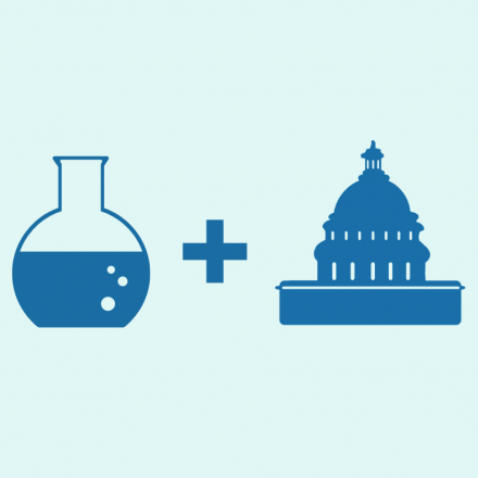 Round bottom flask, plus sign, Capitol building