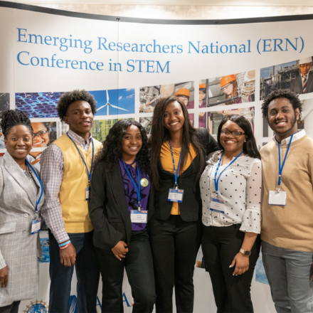 Students at the Emerging Researchers National Conference in STEM