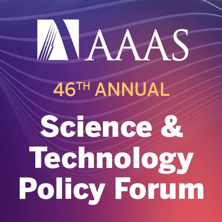 AAAS 46th Annual Science & Technology Forum